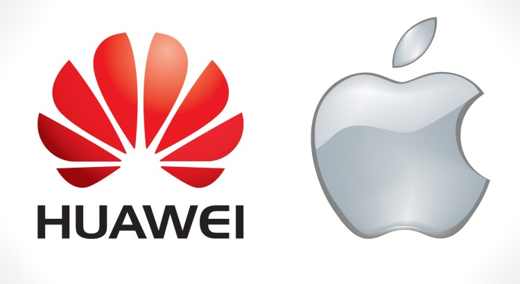 Huawei and apple