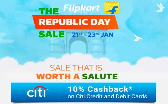 Flipkart republic day sale 2018